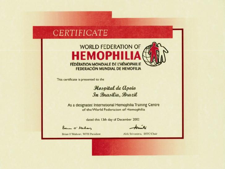 Certificado IHTC
